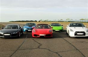 Five Supercar Blast Experience from Trackdays.co.uk