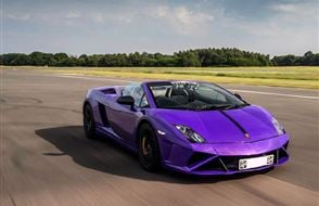 Supercar Blast with High Speed Passenger Ride Experience from Trackdays.co.uk