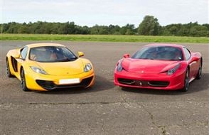 Supercar Double Platinum Thrill Experience from Trackdays.co.uk