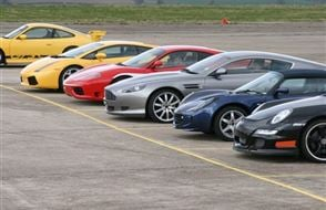 Double Supercar Thrill with High Speed Passenger Ride Experience from Trackdays.co.uk