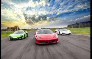 Four Supercar Thrill Experience Experience from Trackdays.co.uk