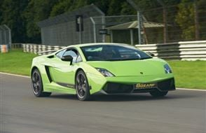 Supercar Platinum Thrill Experience from Trackdays.co.uk