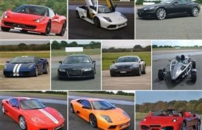 Supercar Supreme with High Speed Passenger Ride Experience from Trackdays.co.uk