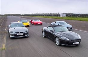 Supercar Thrill Weekday Experience from Trackdays.co.uk