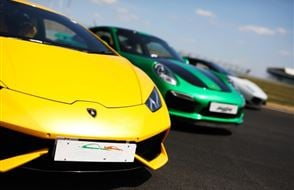 Supercar Triple Blast - Anytime Experience from Trackdays.co.uk