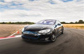 Tesla Model S 'Ludicrous' P90D Thrill Experience from Trackdays.co.uk