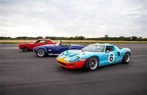 Triple American Muscle Blast with High Speed Passenger Ride Experience from Trackdays.co.uk