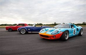 Triple American Muscle Thrill with High Speed Passenger Ride Experience from Trackdays.co.uk