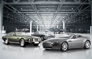 Triple Aston Martin Blast with High Speed Passenger Ride Experience from Trackdays.co.uk