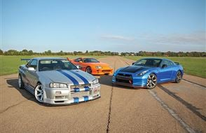 Triple Fast and Furious Blast with High Speed Passenger Ride Experience from Trackdays.co.uk