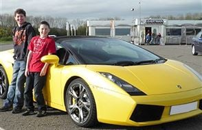 Junior Triple Supercar Thrill - Special Offer Experience from Trackdays.co.uk