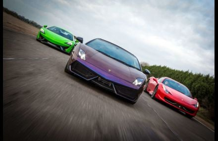 Triple Supercar Blast Experience from Trackdays.co.uk