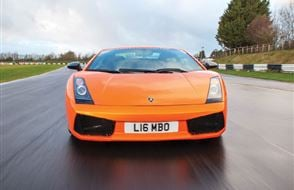 Triple Supercar Blast with High Speed Passenger Ride Experience from Trackdays.co.uk