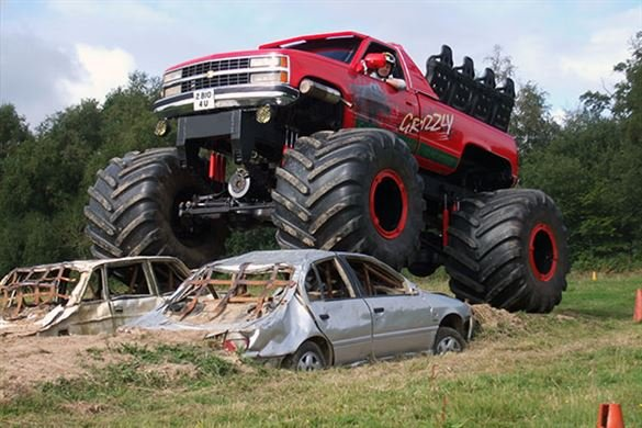 Big Boys Toys Monster Truck Driving Driving Experience 1