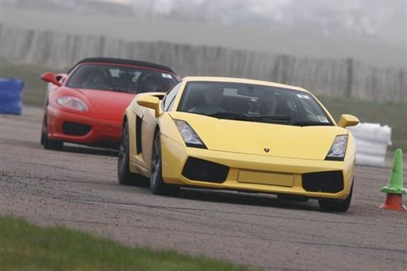 Double Supercar Thrill with Free Photo Print                                                                                                           Driving Experience 1