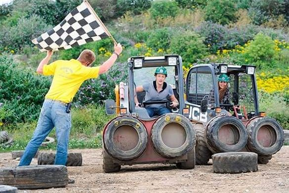 Dumper Truck Racing for Two Driving Experience 1