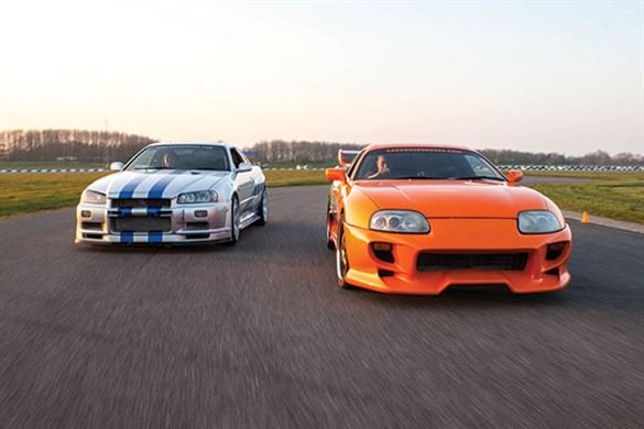 Double Fast and Furious Blast with High Speed Passenger Ride Driving Experience 1