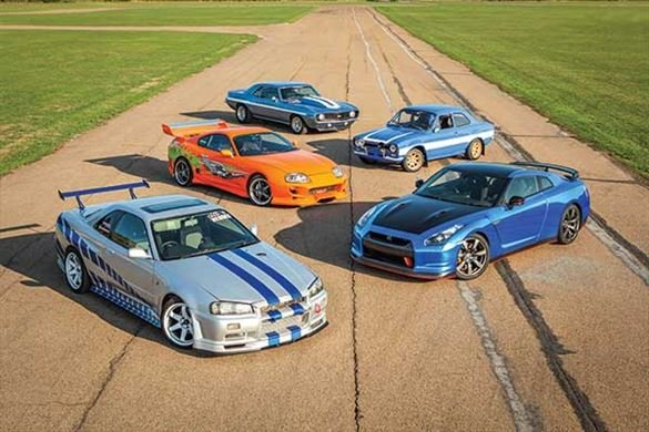 Five Fast and Furious Blast with High Speed Passenger Ride Driving Experience 1