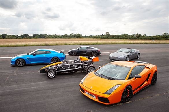 Five Supercar Thrill with High Speed Passenger Ride Driving Experience 1