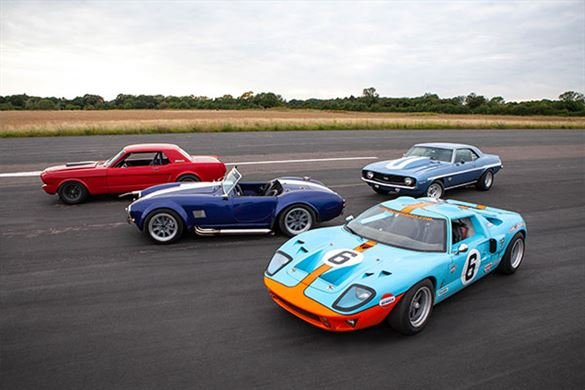 Four American Muscle Blast with High Speed Passenger Ride Driving Experience 1