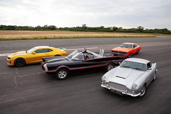 Four Movie Car Blast with High Speed Passenger Ride Driving Experience 1