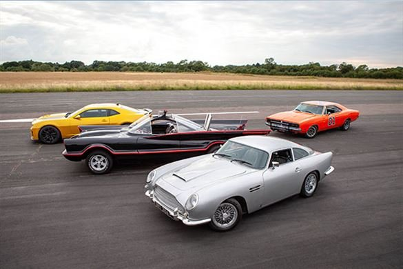 Four Movie Car Thrill with High Speed Passenger Ride Driving Experience 1
