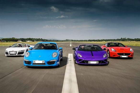Four Supercar Thrill with High Speed Passenger Ride Driving Experience 1