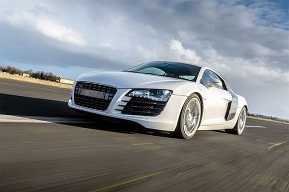 Junior Double Supercar Blast with High Speed Passenger Ride Driving Experience 1