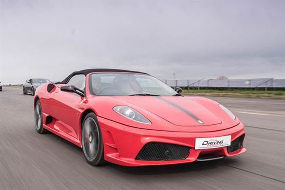 Junior Ferrari Thrill Driving Experience 1