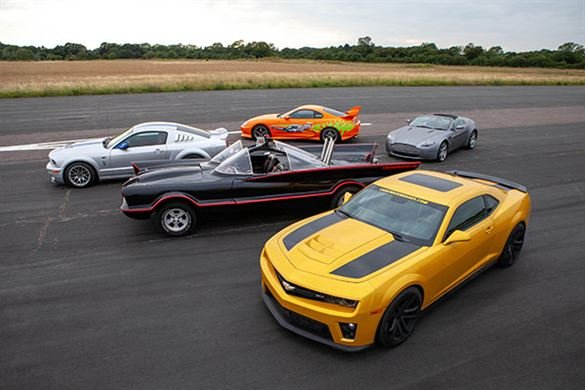 Junior Five Movie Car Blast with High Speed Passenger Ride Driving Experience 1