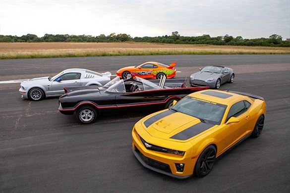 Junior Five Movie Car Thrill with High Speed Passenger Ride Driving Experience 1