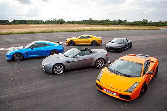 Junior Six Supercar Blast with High Speed Passenger Ride Driving Experience 1