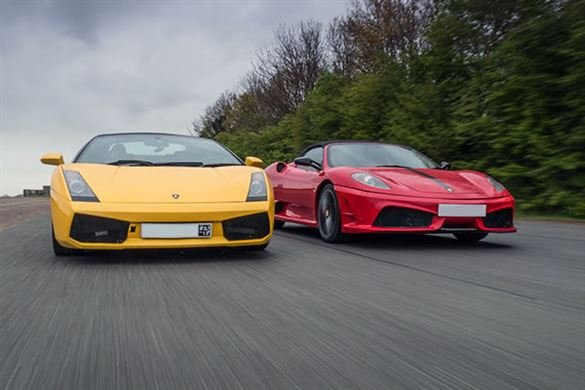Junior Two Supercar High Speed Passenger Ride Blast Driving Experience 1