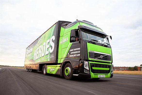 Junior Volvo Truck Driving Thrill Driving Experience 1