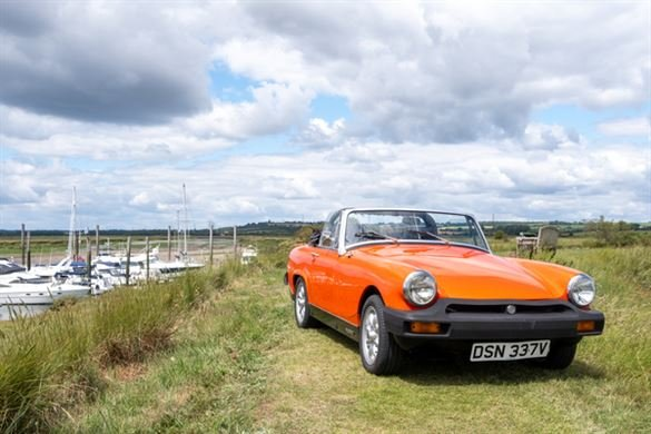 MG Midget Classic Car Hire - Anytime Driving Experience 1