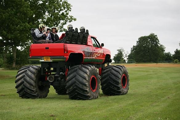 Monster Truck Ride Driving Experience 1