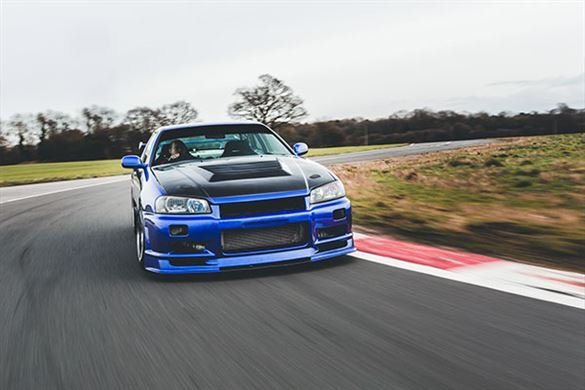 Nissan Skyline R34 Thrill Driving Experience 1