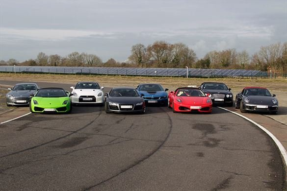 Supercar High Speed Passenger Ride Driving Experience 1