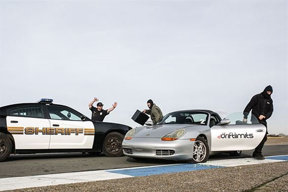 Porsche Boxster 'Police Pursuit' Driving Experience Driving Experience 1