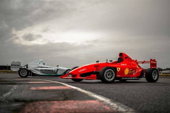 Single Seater Thrill for 2 Driving Experience 1