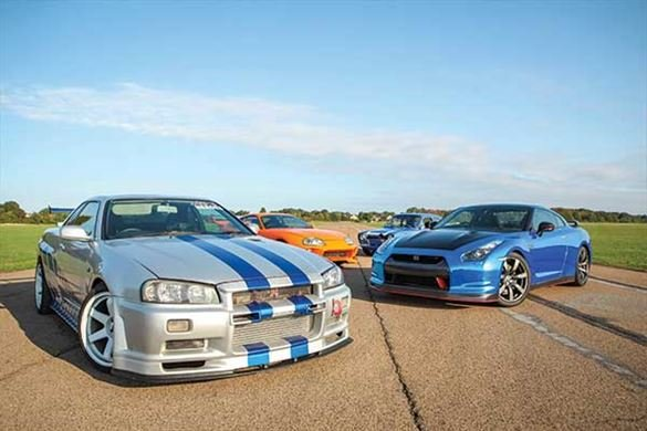 Six Fast and Furious Blast with High Speed Passenger Ride Driving Experience 1