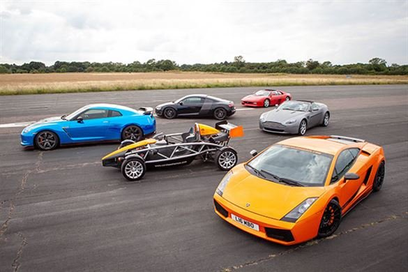 Six Supercar Thrill with High Speed Passenger Ride Driving Experience 1