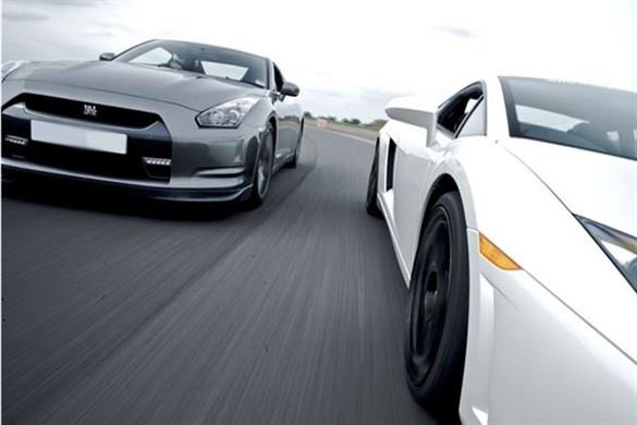 Supercar Double Thrill (Anytime) Driving Experience 1