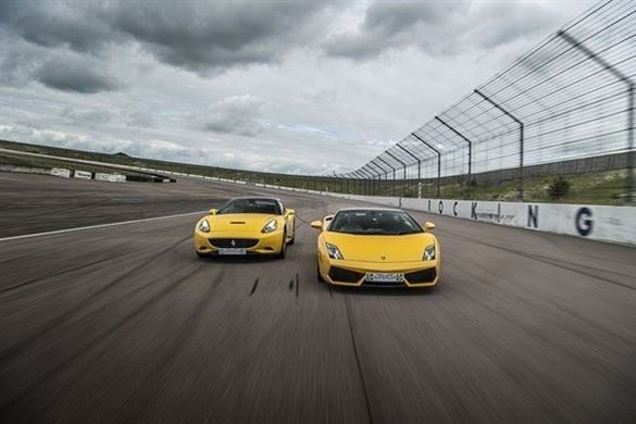 Double Supercar Driving Blast with High Speed Ride Driving Experience 1