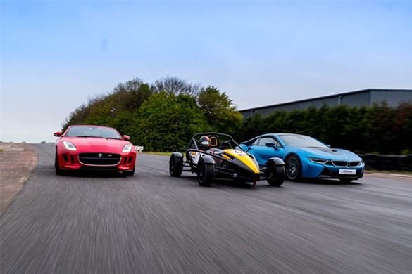 Supercar Treble (Anytime) Driving Experience 1