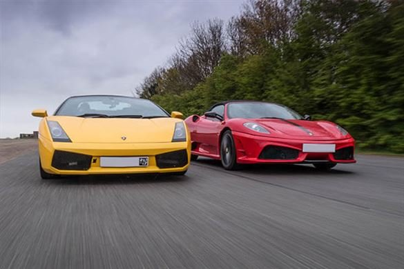 Supercar Treble Offer (Anytime) Driving Experience 1