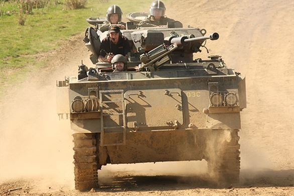 Tank Driving Taster Driving Experience 1