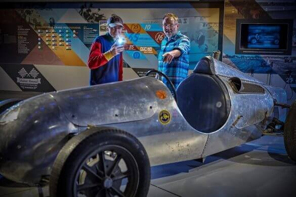 The Silverstone Experience - History of British Motor Racing for Two Driving Experience 1