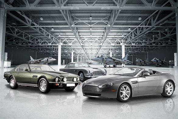 Triple Aston Martin Blast with High Speed Passenger Ride Driving Experience 1