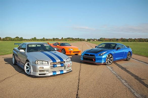 Triple Fast and Furious Thrill with High Speed Passenger Ride Driving Experience 1